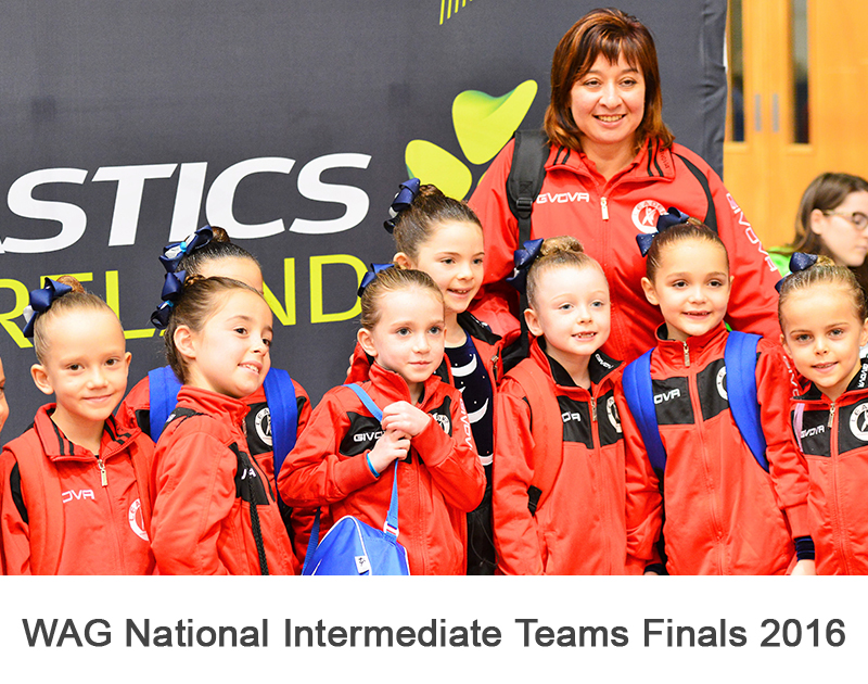 WAG National Intermediate Teams Finals 2016