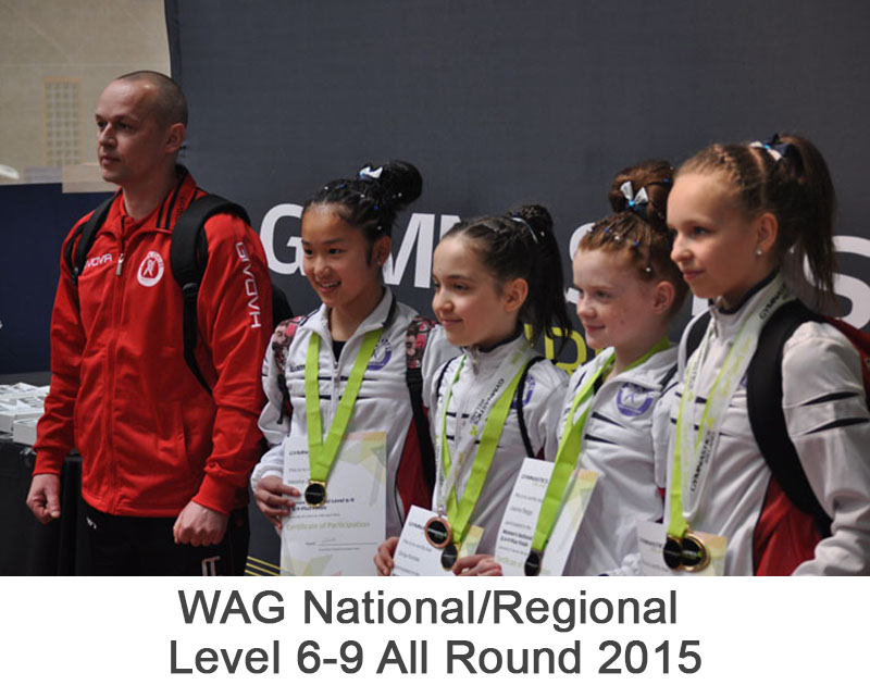 WAG National/Regional Level 6-9 All Round 2015
