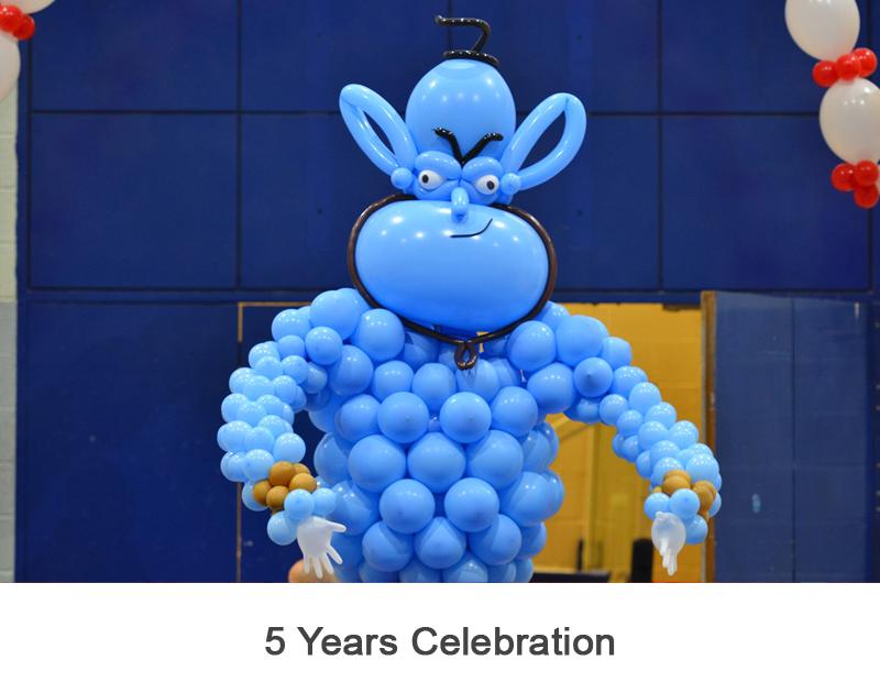 5 Years Celebration