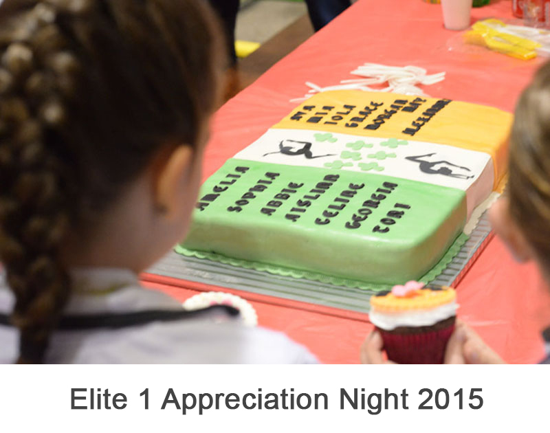 Elite 1 Appreciation Night 2015