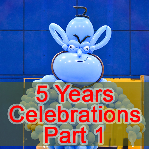 5 Years Celebration Part 1